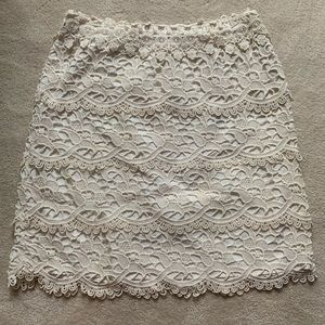Loft Crochet Layer Skirt